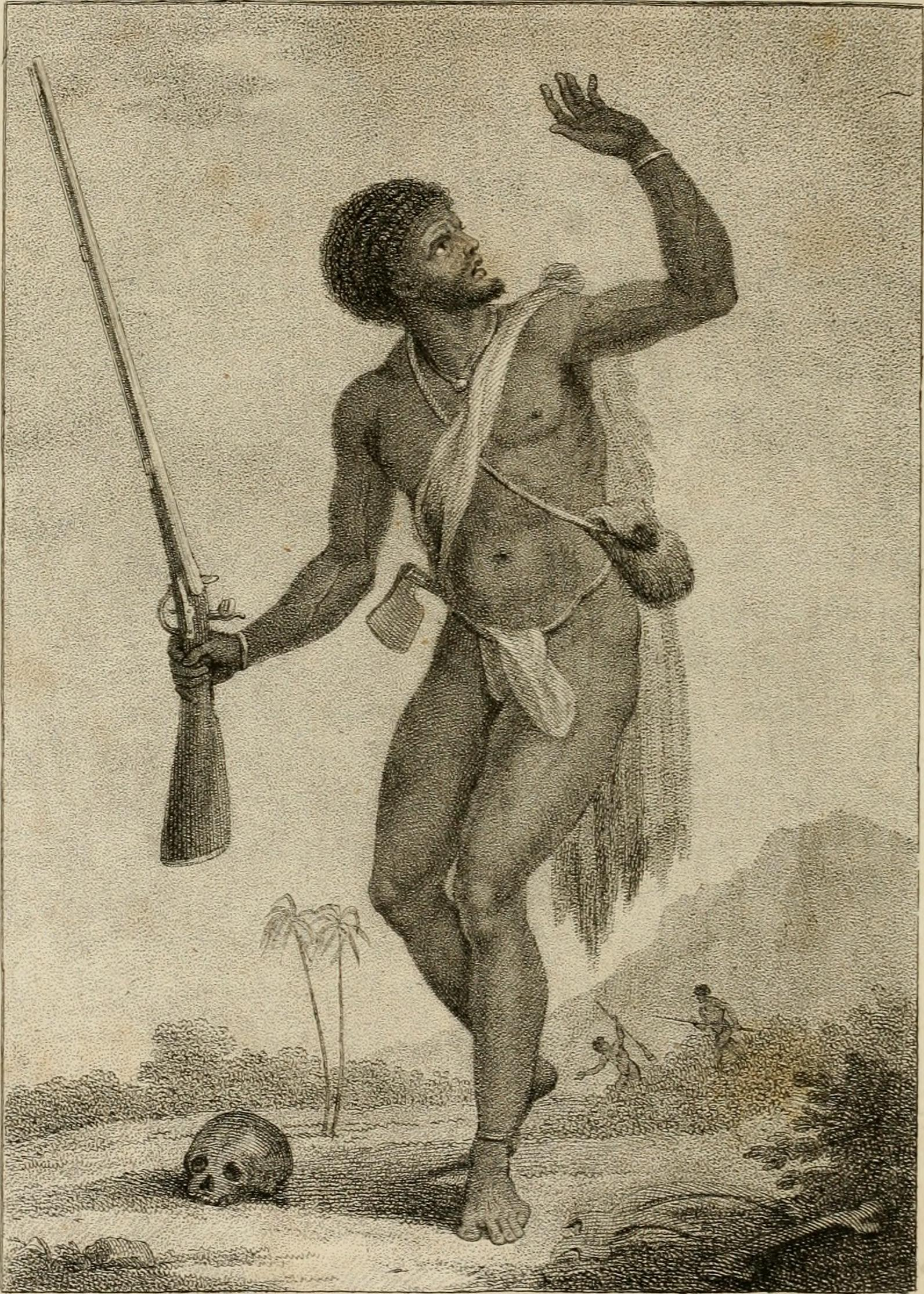 Marron in Suriname, circa 1775